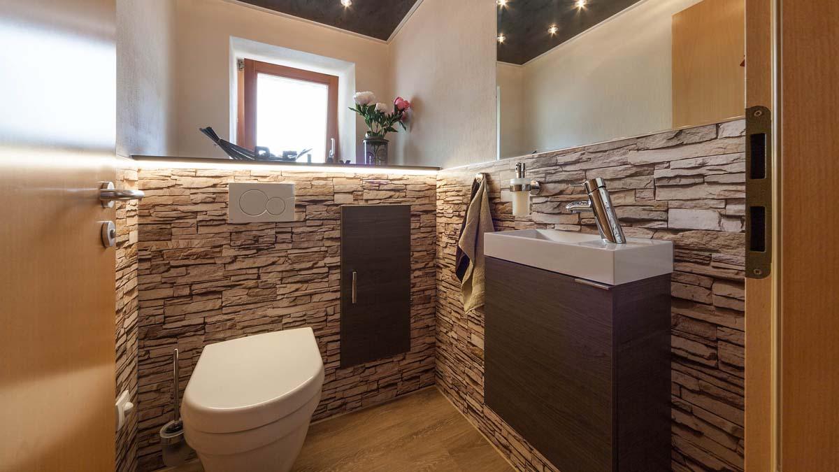 Gäste-WC Stone | Riegler BadRaumLösungen